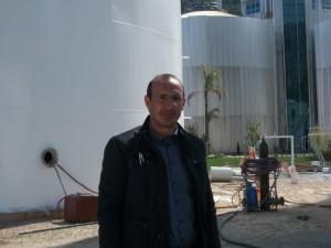 SRD3KGRUP Antalya Hurma Atıksu Arıtma Tesisi-Gaz Depolama Tankı Şantiye Sorumlusu Makine Mühendisi Cengiz ŞAŞO