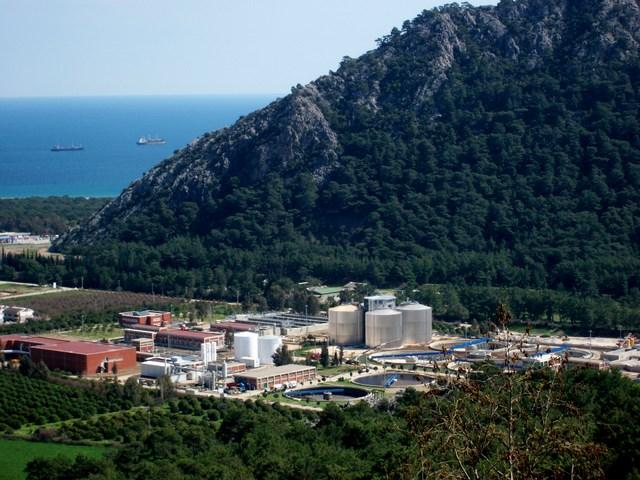 Antalya Hurma Atıksu Arıtma Tesisi